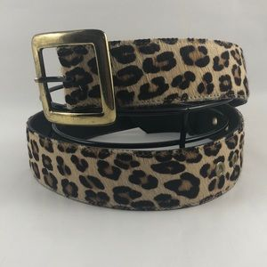 Betsey Johnson Cheetah Belt